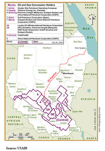 321energy :: Darfur? It's the Oil, Stupid…China and USA in